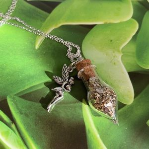 Jewelry - Fairy Dust and charm Necklace